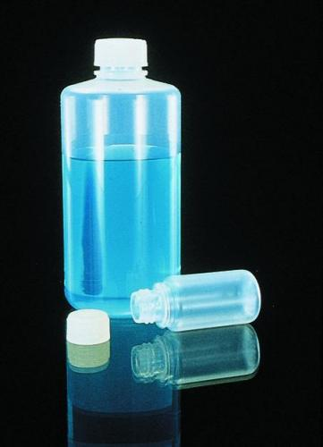 Narrow-mouth bottles Type 1600, FEP with screw cap ETFE