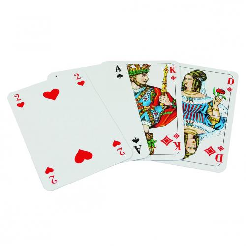 Playing card rejects