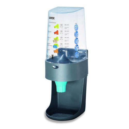 Dispenser uvex one2click and Wall-mounted dispenser