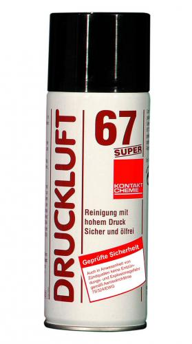 Dust remover spray Druckluft 67 SUPER