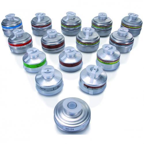 e512c964208 Respiratory ochranné - šroubovací filtry pro celoobličejové masky BRK 820