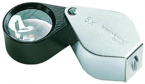 Precision folding magnifiers, metal